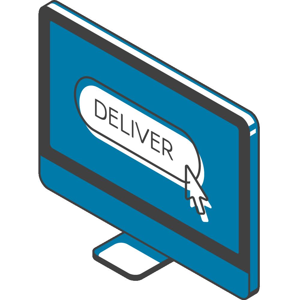 Logistics Management - computer icon